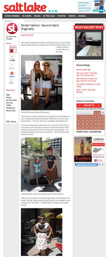 SaltLakeMagazine August Blog