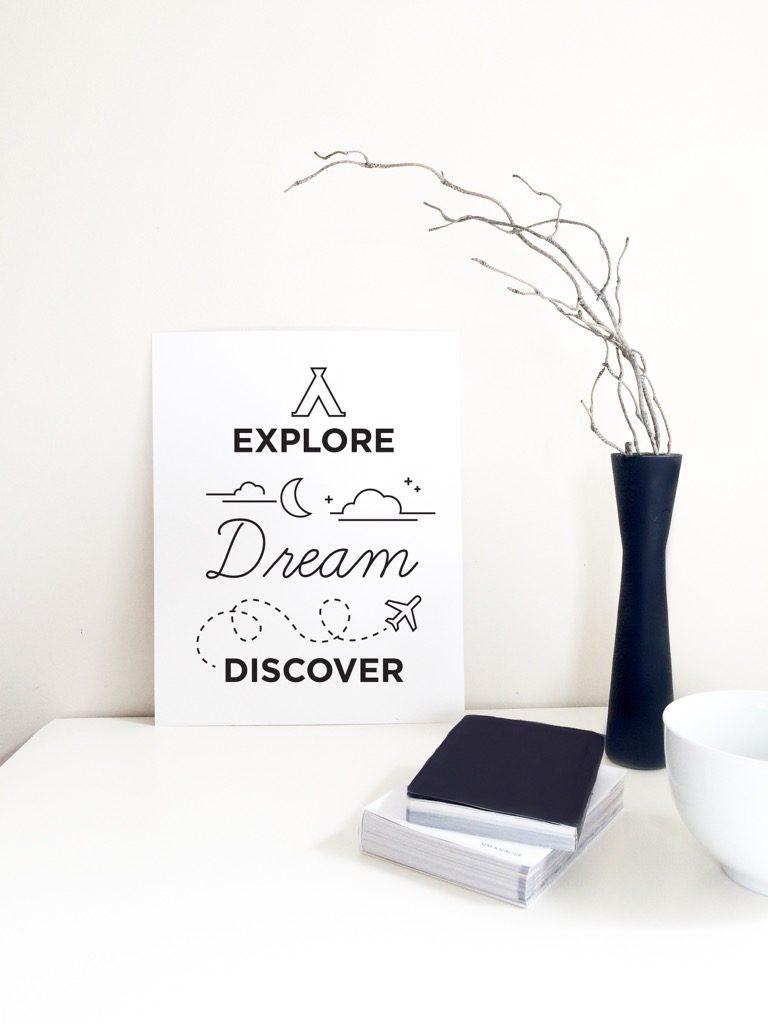 Explore-Dream-Discover